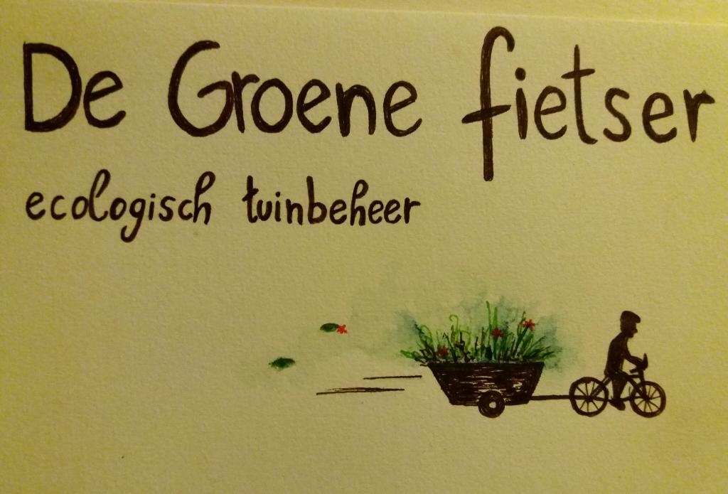 De Groene fietser